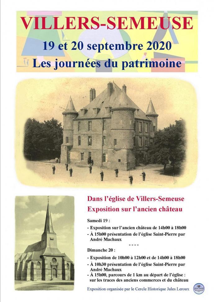 Affiche patrimoine 2020 journees patrimoine 1